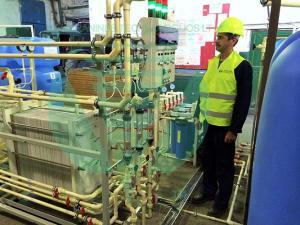 Очистка цианидсодержащих сточных вод безреагентным способом.