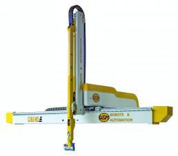 Индустриальный робот для транспортировки пластмассовых изделий