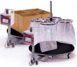 Поворотный стол Mass для автоматизации наполнения коробок продукцией