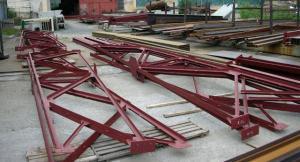 Строительные металлоконструкции: колонны, опоры, связи