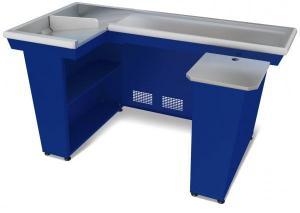 Кассовый бокс КБ-1,5-2Н (синий)