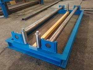 Разматыватель рулонного металла напольный грузоподъемность до 1,5 тонн