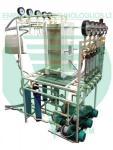 Электродиализная установка для щелочного гидролиза.