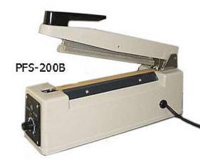 Настольный импульсный сварщик (запайщик) пакетов и пленок модели PFS-200С
