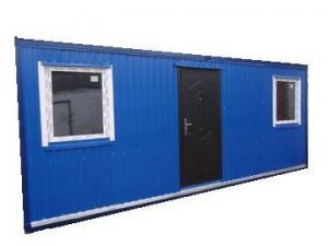 Бытовка (блок-контейнер) размером 9,0х2,40х2,50 метра -распошонка.