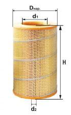 Элемент фильтрующий воздушный ПЗМИ 260-1109300 (комплект)