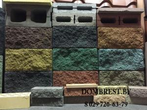 Блоки демлер рваный камень в Бресте