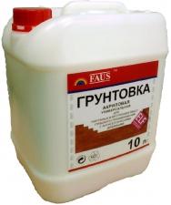 Акриловая универсальная грунтовка «FAUS», 10 л, в Красноярске