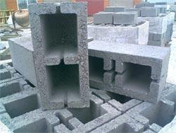 Блоки мелкоштучные шлакобетонные двухкамерные ШБС-40 40х20х20