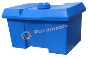 Емкость (контейнер) пластиковая с крышкой 700 литров