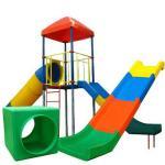 Пластиковые горки, песочницы, элементы к детским игровым комплексам