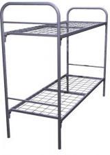 Кровати двухъярусные металлические для общежитий и студентов, кровати для гостиницы и санатория, кровати для бюджетных организаций. Дешевые кровати купить в Москве