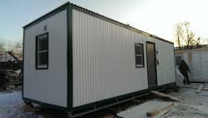 Помещение для жилья вагончики из металла теплые 6 метров