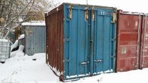 Модульные ящики контейнеры на три и пять тонн целые б/у