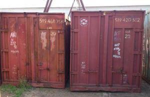 Трех и пяти тонные контейнер для склада ГСМ б/у
