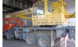 Автокран КС-55713-1В Галичанин на шасси Камаз-65115