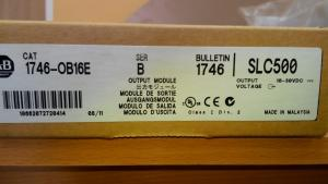 Модуль electronically protected DC OU, 1746-OB16Е