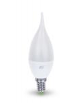 Лампы светодиодные PRORAB Лампа светодиодная LED СВЕЧА на ветру 5Вт 160-260В Е14 4000К