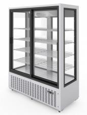 Шкаф холодильный Эльтон 1,5С купе ( стеклянный)