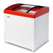 Ларь морозильный гнутое стекло МЛГ-250 (-18 градусов)