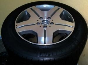 Новые летние колёса на броневик Мерседес 221