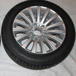 Новые зимние колёса для бронированного BMW F03