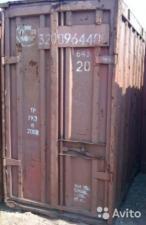 Будка стальная контейнеры трех тонные не новые пустые