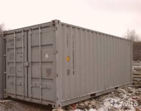 Гараж для катеров, стандартные контейнеры 20, 40 футов