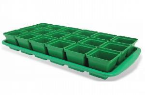 """Набор пластиковый для рассады """" Урожай-МИНИ 24"""" 24 стаканчиков для томатов"""