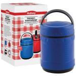 Термос Mallony FS2614, 1,4 л, нерж.сталь, контейнер для пищ. продуктов (цвет в ассортименте)
