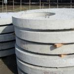 Плиты перекрытий колодцев оптом от 1 фуры, 20-24 тонны