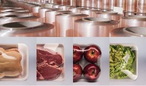 Пищевая стрейч-пленка для автоматической упаковки (прозрачная)