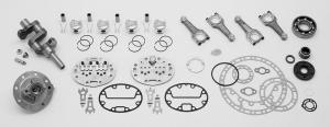 Производство запасных частей к компрессорам 4ВУ1-5/9, КСЭ-5М,  К-5М