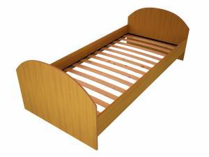 Кровать ДСП для гостиницы и летнего детского лагеря, кровать из ДСП для студентов