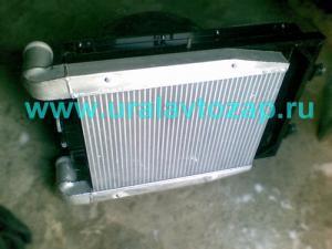 Охладитель надувочного воздуха (CuproBraze) (интеркулер) Урал-63685