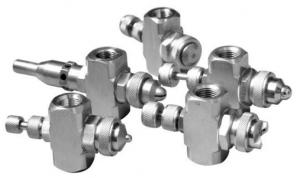 Форсунки пневматические (водовоздушные форсунки, атомайзеры)