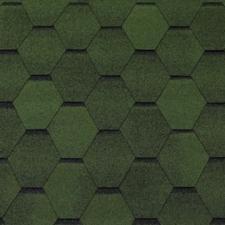Черепица гибкая Tegola Топ-Шингл Смальто зеленый