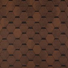 Черепица гибкая Tegola Топ-Шингл Смальто коричневый