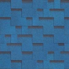 Гибкая черепица Shinglas Джайв Аккорд синий