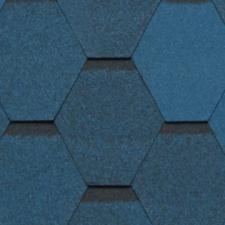 Черепица гибкая Tegola Нордленд Нордик синий с отливом