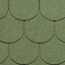 Черепица гибкая Tegola Нордленд Антик зеленый
