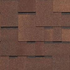Черепица гибкая Tegola Нордленд Альпин коричневый с отливом