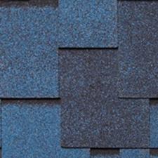 Черепица гибкая Tegola Нордленд Альпин синий с отливом