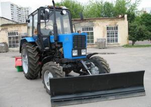 Отвал коммунальный на трактор Беларус