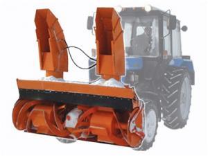 """Навесная снегоуборочная машина Су 2.1 """"Истребитель Снега"""""""