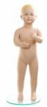 Манекен детский скульптурный (с макияжем) телесный