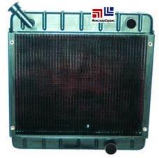 Радиатор для погрузчика TCM FD20T6H, двигатель Kobota V3300