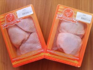 Полуфабрикаты цыпленка-бройлера