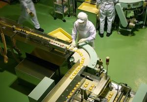 Бесшовные промышленные полы для пищевых производств