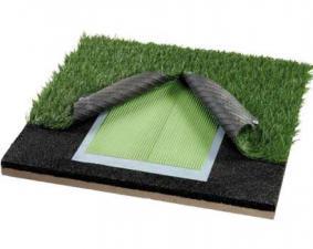 Устройство футбольного поля с искуственной травой